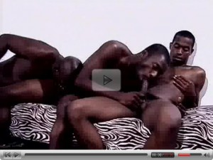 Cock Hungry Black Studs Orgy