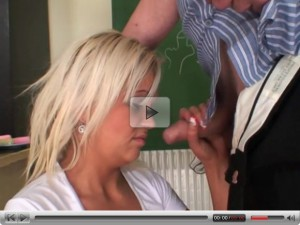 Role Play 39: Horny blonde pupil