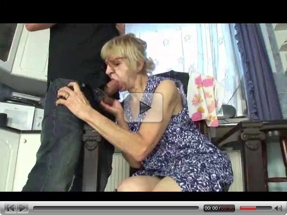 Granny prefers banging with young guy