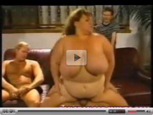 Gangbang Archive Vintage BBW MILF slut gangbanging party
