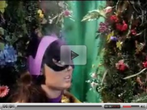 wonder woman and cat women arecaptureed by forest woman