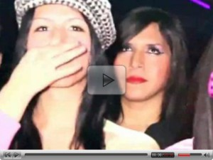 Teenager t-girls beauty pageant
