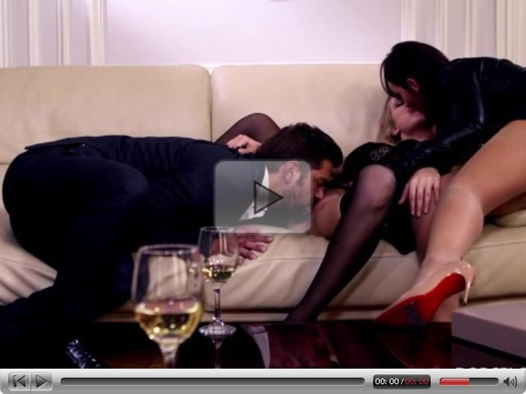 swinger party in fetish leather submissive bisexual game