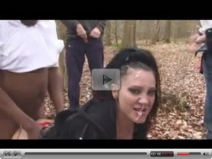 British girl do dogging 10